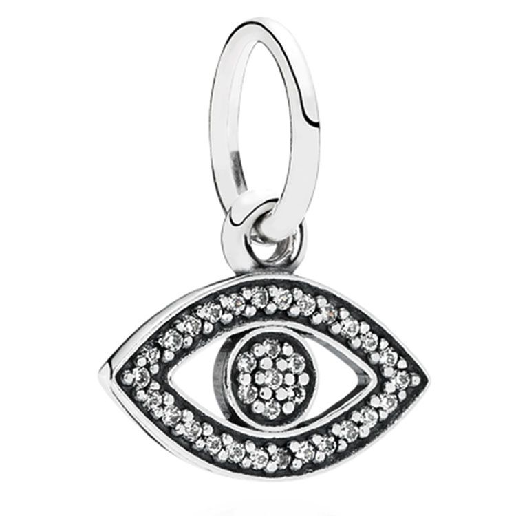 evil eye necklace pandora